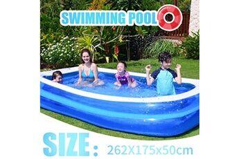 Pataugeoire enfants inflation famille piscine gonflable bébé océan boule de sable baignoire jouets carré @he173