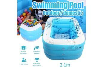 Pataugeoire enfants inflation famille piscine gonflable bébé océan boule de sable baignoire jouets carré @he193