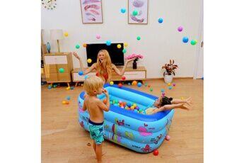 Pataugeoire enfants inflation famille piscine gonflable bébé océan boule de sable baignoire jouets carré @he2853