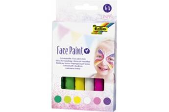 Folia     folia crayons de maquillage face paint set sweet     noir
