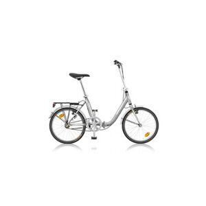 "De Scheemaeker Vélo pliant albi fw 20"" argent 2017"