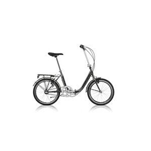 "De Scheemaeker Vélo pliant dax nexus 3 20"" gris 2017"