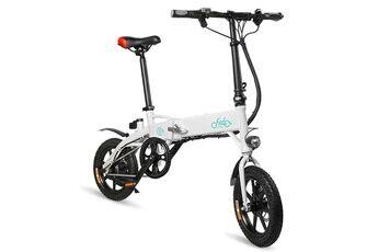 fiido d1 mini vélo électrique se pliant futé de vélomoteur de vélo électrique d'alliage d'aluminium 7.8ah