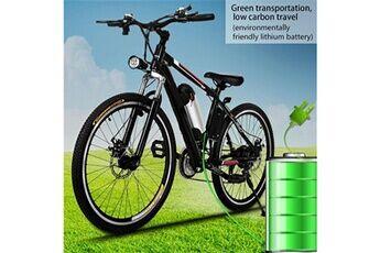 """Ancheer vélo électriques avec 26"""" roue noir"""