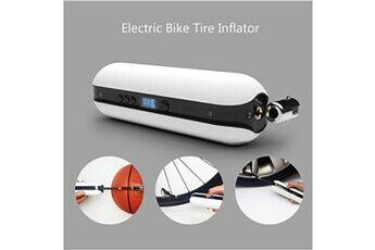 Smart pompe vélo gonfleur électrique vélo pression d'air rechargeable sans fil nouveau blanc