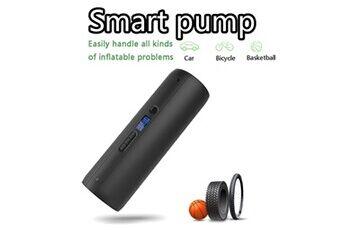 Basket-ball électrique de pompe de pneu de pompe de pression d'air de gonfleur de vélo, voiture universelle noir