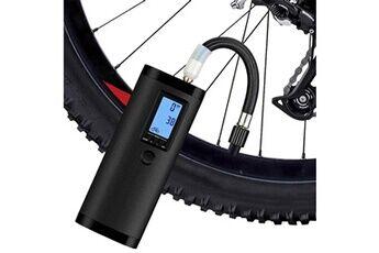 Mini-pompe à air électrique de voyage usb pour vélo de moto automobile noir