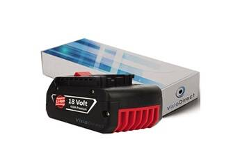 Visiodirect Batterie pour bosch gsr 18 ve-2-li gsr 18 v-li gsr 18-2-li 4000mah 18v  -visiodirect-