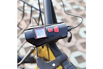 generic vélos light klaxon usb rechargeable vélo électrique cloche guidon phares luminaire d'ambiance extérieur pealer 1010