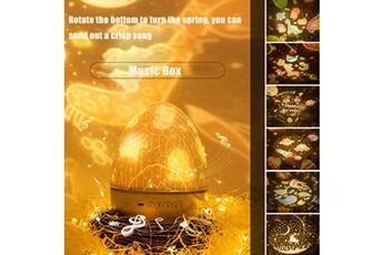 Lampe de projecteur d'étoile de lumière de nuit d'univers pour la lampe de projection d'anniversaires multicolore