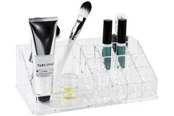 Compactor Organisateur transparent pour maquillage et produits de beauté