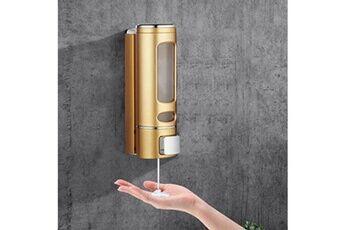 distributeur de désinfectant pour les mains de savon de lotion de lavage de montage mural 400ml
