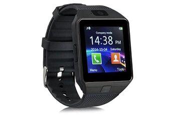 Ceka Tech Montre connectée nokia 2.1, ceka tech® montres connectée bluetooth smart watch avec caméra écran incurvé tactile support sim / tf card podomètre sommeil bracelet compatible samsung huawei sony android iphone ios