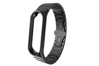 generic mode de luxe en acier inoxydable bracelet montre bracelet bande pour xiaomi mi band 3 smartwatch 244