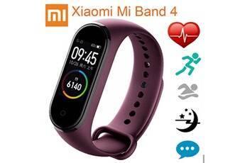 xiaomi mi band 4 amoled écran couleur wristband bt5.0 fitness tracker montre smart watch