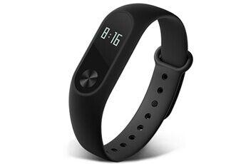 xiaomi mi band 2 bracelet intelligent bracelet moniteur de fréquence cardiaque fitness tracker noir