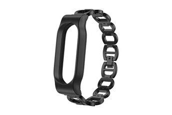 generic chaîne en acier inoxydable bracelet style du bracelet montre bracelet à puce pour xiaomi mi band 2 smartwatch 303