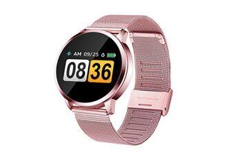montre connectée étanche smartwatch activity fitness sports watch rose