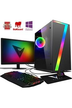 "Vibox Killstreak rs760-122 pc gamer ordinateur, 2 jeux gratuits, win 10 pro, 22"" écran (4,0ghz intel i5 6-core, nvidia gtx 1050 ti, 16gb ram, 1tb hdd)"