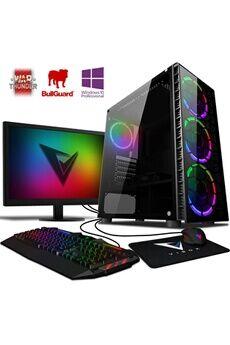 """Vibox Killstreak gs780-378 pc gamer ordinateur, 2 jeux gratuits, win 10 pro, 22"""" écran (4,0ghz intel i5 6-core, nvidia rtx 2070, 16gb ram, 1tb hdd-ssd)"""