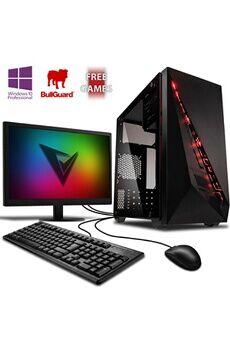 """Vibox Bx- 6 pc gamer ordinateur, 2 jeux gratuits, windows 10 pro os, 22"""" écran (4,0ghz amd ryzen quad-core, radeon vega 8, 8gb 2400mhz ram, 1tb hdd)"""
