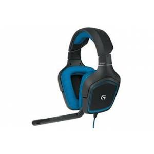 Logitech g430 7.1 filaire surround sound gaming headphones microphone headsetgaming headset 186