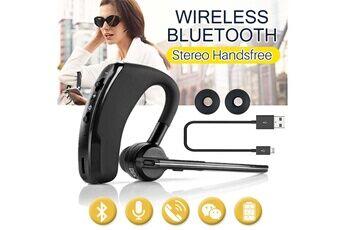 Shot Case Oreillette bluetooth pour nokia 9 smartphone intra-auriculaire sans fil son main libre universel business (noir)