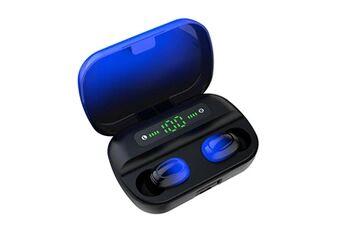 ecouteurs bluetooth sans fil stéréo intra-auriculaires casques de sport gradient headphones @he1000