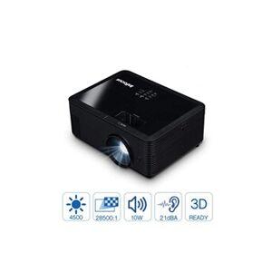 Infocus IN2134 XGA vidéo-projecteur 4500 ANSI lumens DLP XGA (1024x768) Compatibilité 3D Projecteur de bureau Noir - Vidéo-projecteurs (4500 ANSI lumens, DLP, XGA (1024x768), 28500:1, 4:3, 16:10,16:9)