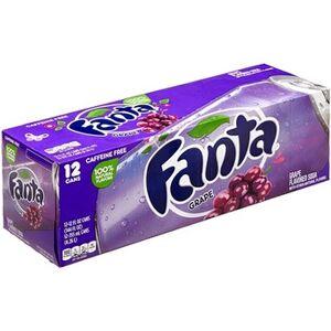 Fanta grape raisin 35,5cl (pack de 12)