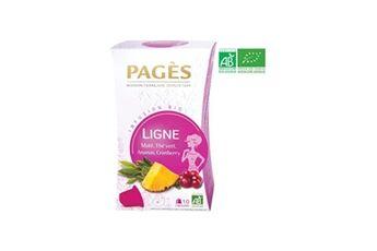 Pages infusion ligne - maté, thé vert, ananas, cranberry - capsules - bio