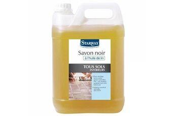Starwax Savon noir starwax à l'huile de lin - 5l - 5151