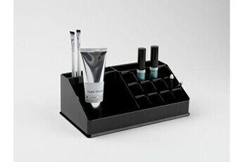 Compactor Organisateur pour maquillage et produits de beauté, coloris noir