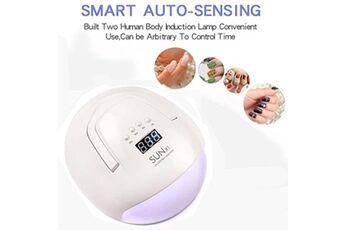 led uv gel de durcissement lampe 108w lumière gel de vernis à ongles séchoir nail art machine