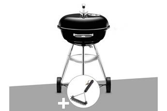 weber barbecue weber compact kettle 47 cm + brosse