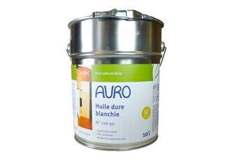 Auro Déstockage - auro - huile dure blanchie (bio et look scandinave) 10l - n° 126-90