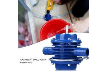 Ménage petite pompe à auto-amorçage perceuse à main pompes à eau jardin cour