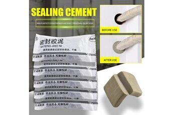 Réparation de ménage trou de mur pâte à modeler tuyau d'égout étanche bouchage de boue d'étanchéité