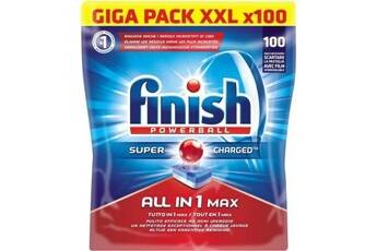 Finish nz7 paquet de 100 tablettes pour lave-vaisselle tout en 1 - powerball all in one max