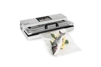 klarstein foodlocker 650 appareil de mise sous-vide 650w - soudeuse alimentaire - inox gris