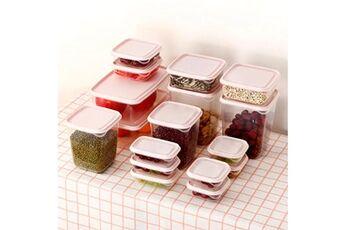 Generic Cuisine boîte de rangement en plastique d'étanchéité conservation des aliments frais pot container 1729