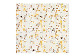 Generic 3pc frais tissu cire d'abeille alimentaire réutilisable en coton biologique de qualité en tissu d'emballage 2458