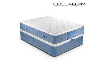 Euroweb Matelas écologique viscogel premium (épaisseur 30 cm) - gel confort relaxation maximale et meilleure circulation mesure - 90 x 200 cm