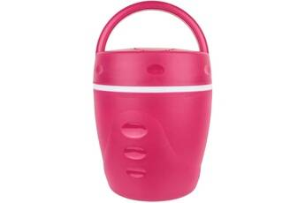 Take Away Lunch box chaud froid avec cuillère 1 litre rouge