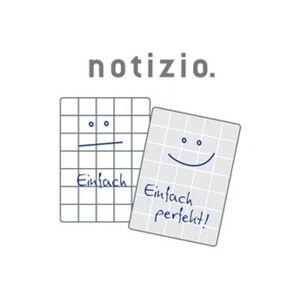 "Avery     avery zweckform cahier spirale ""notizio"", a4, quadrillé, pp     noir"
