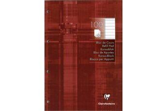 Clairefontaine bloc de cours, a4, ligné, 200 pages