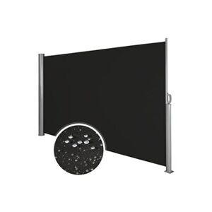 Helloshop26 Auvent store latéral brise-vue abri soleil aluminium rétractable 200 x 300 cm noir helloshop26 2208017