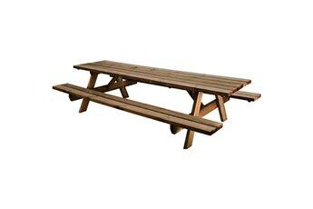 Jardipolys Table pique-nique en bois GARDEN 300B