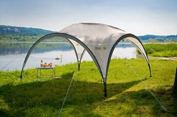 coleman abri de camping coleman event shelter 365 x 365 cm