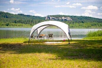 coleman abri de camping coleman event shelter 450 x 450 cm